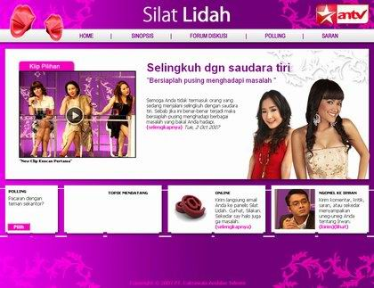 Website Silat Lidah