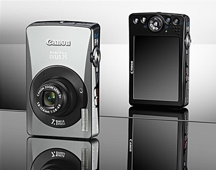 Canon Ixus 75 (SD750). pic by LetsGoDigital