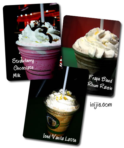 Ice Blend and Frape of Coffee Toffee