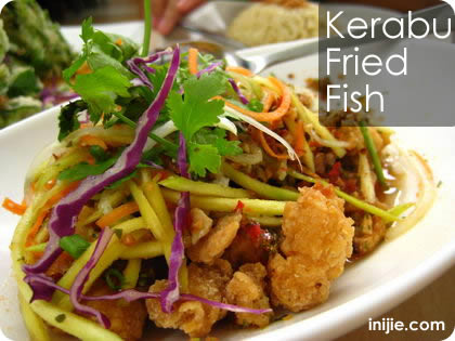 Malay Village - Kerabu Fried Fish