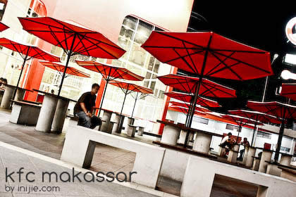 World Biggest KFC - Makassar - Umbrella Table