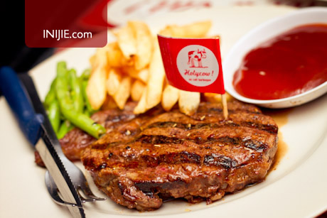 New Zealand Rib Eye Steak - Steak Hotel by Holycow
