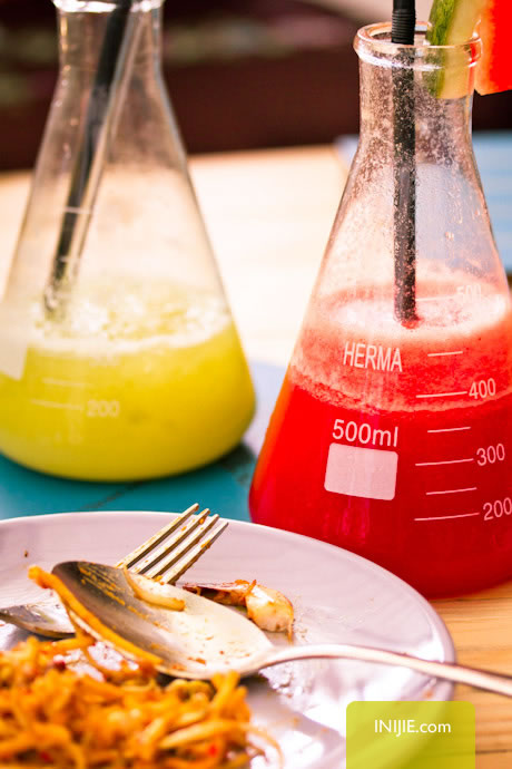 Erlenmeyer Flask for Food