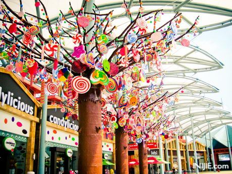 Sentosa Island Candylicious Lollipop Candy Tree