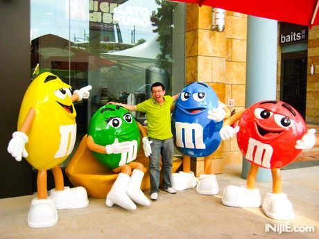 Candylicous M&M Sentosa Island Resort World