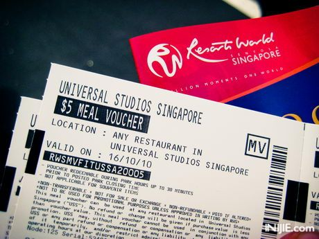 Universal Studio Singapore Ticket