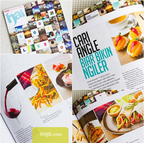 INIJIE on Hai Magazine - Food Photography