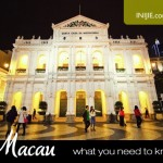 Travel to Macau – Things You Need to Know First