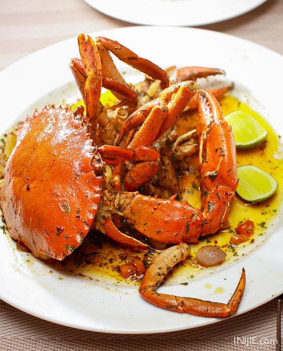 beatus caramelized butter crab - loop surabaya