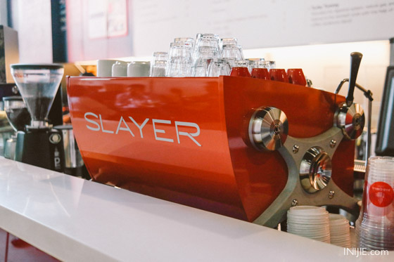 Jakarta Best Coffee Shop-034 Pandava Coffee Slayer Espresso Machine