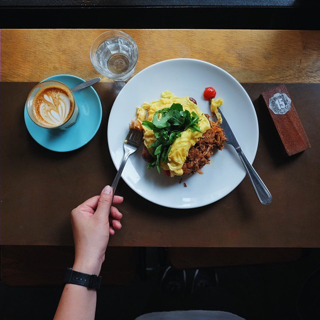 One of the very nice thing about food is the way we must regularly stop whatever it is we're doing and devote our attention to eating.. // Department of Caffeine (DoC), 15 Duxton Hill, #Singapore.  #inijiegram #food #TableToTable #kuliner #culinary