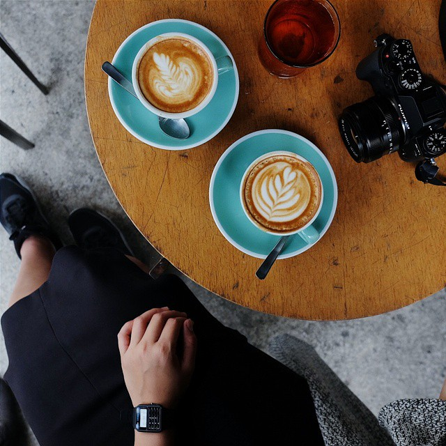 #HobiKopi A yawn is a silent scream for coffee. // Cye Seng Huat Hardware, 150 Tyrwhitt Rd #Singapore  #inijiegram #food #TableToTable #kuliner #culinary