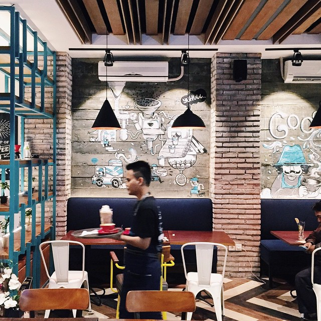 Congrats for the opening of @communal.sby, may the force brew with you :) #inijiegram #cafe #design