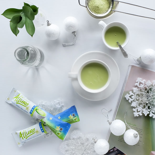 esprecielo allure green tea vanilla latte